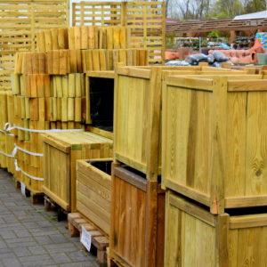 Drewniane elementy architektury ogrodowej